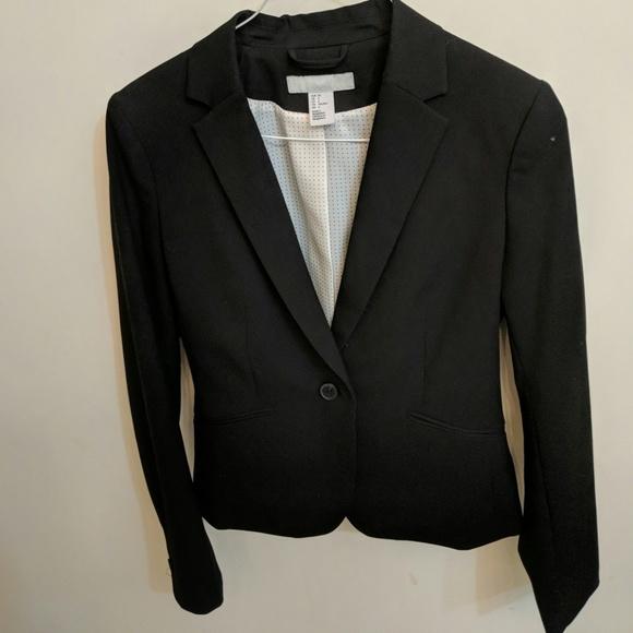 H&M Jackets & Blazers - Black HM blazer